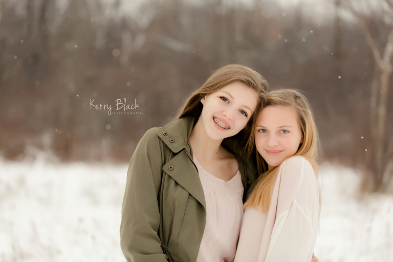 Winter Sibling Photo Session